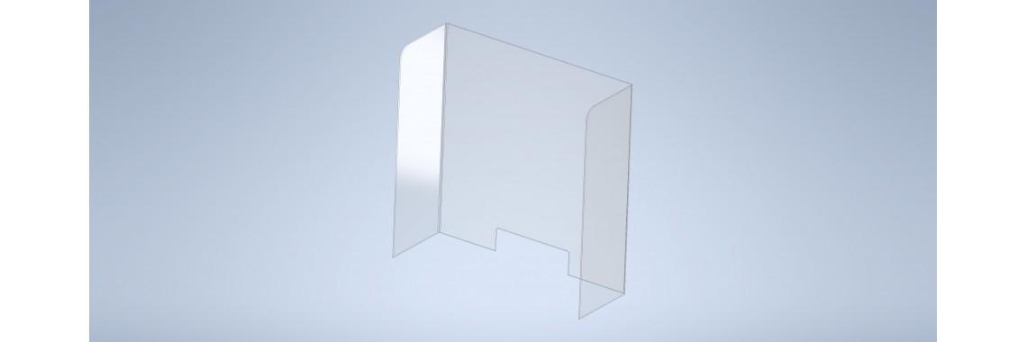 PLEXIGLAS® Hauchschutz in U-Form